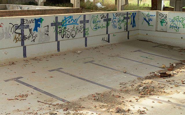 Uleg propone la reconstrucci n de la piscina solagua for Piscina solagua leganes