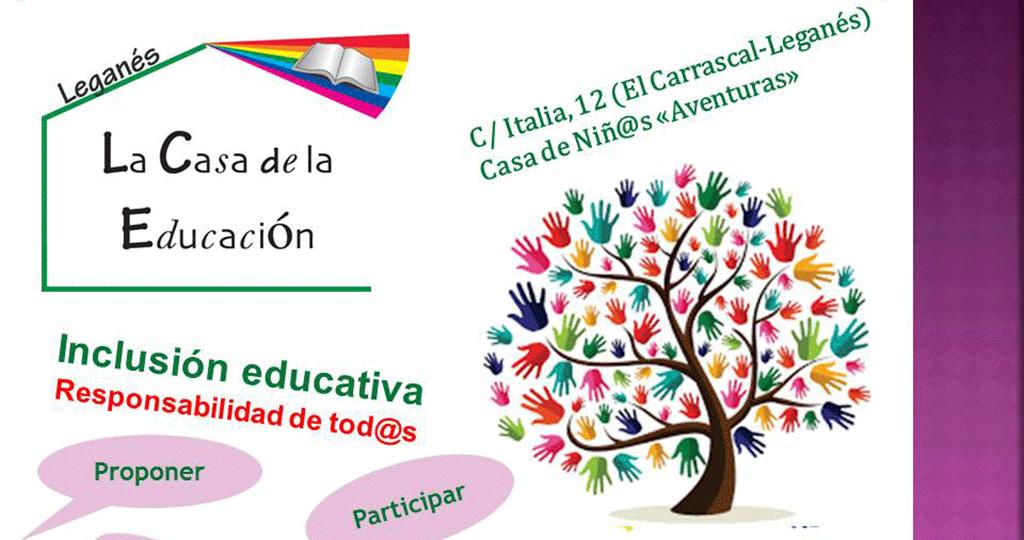 Asamblea Casa de la Educacion Inclusion educativa