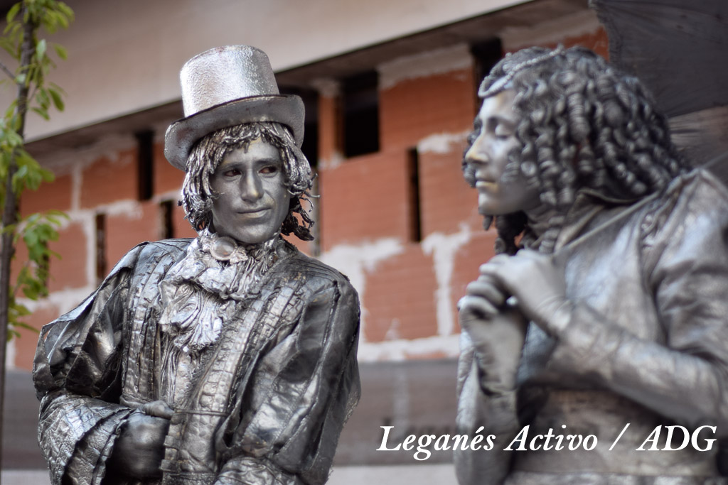 Estatuas Humanas Leganes-0030
