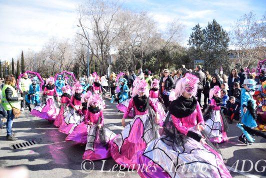 Casa Andalucia comparsa Carnaval Leganés 2018
