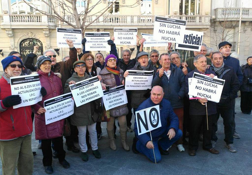 manifestacion pensiones dignas
