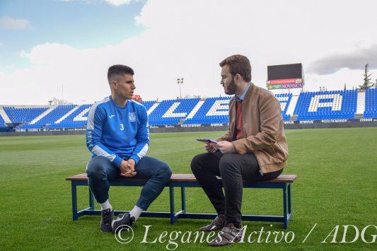 Leganes Activo entrevista a Unai Bustinza