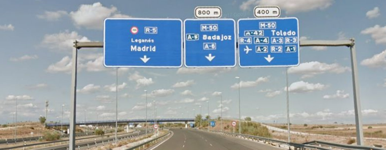 autopista r5 gratis noche