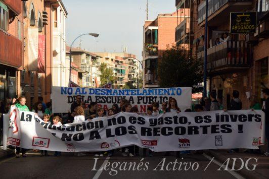 manifestacion educacion de 2016