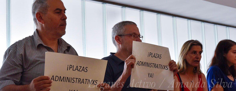 trabajadores protestan leganes