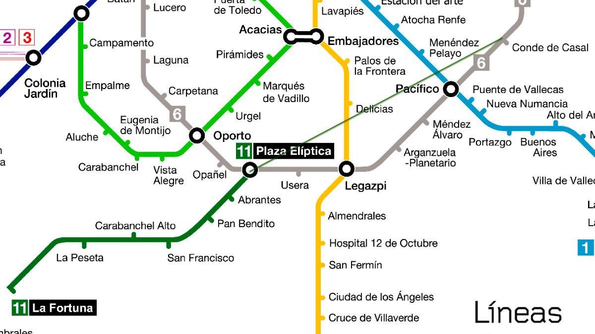La Comunidad Presenta La Ampliacion De La Linea 11 De Metro Hacia