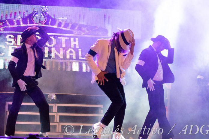 Espectáculo 'Michael's Legacy' en Teatro Egaleo.