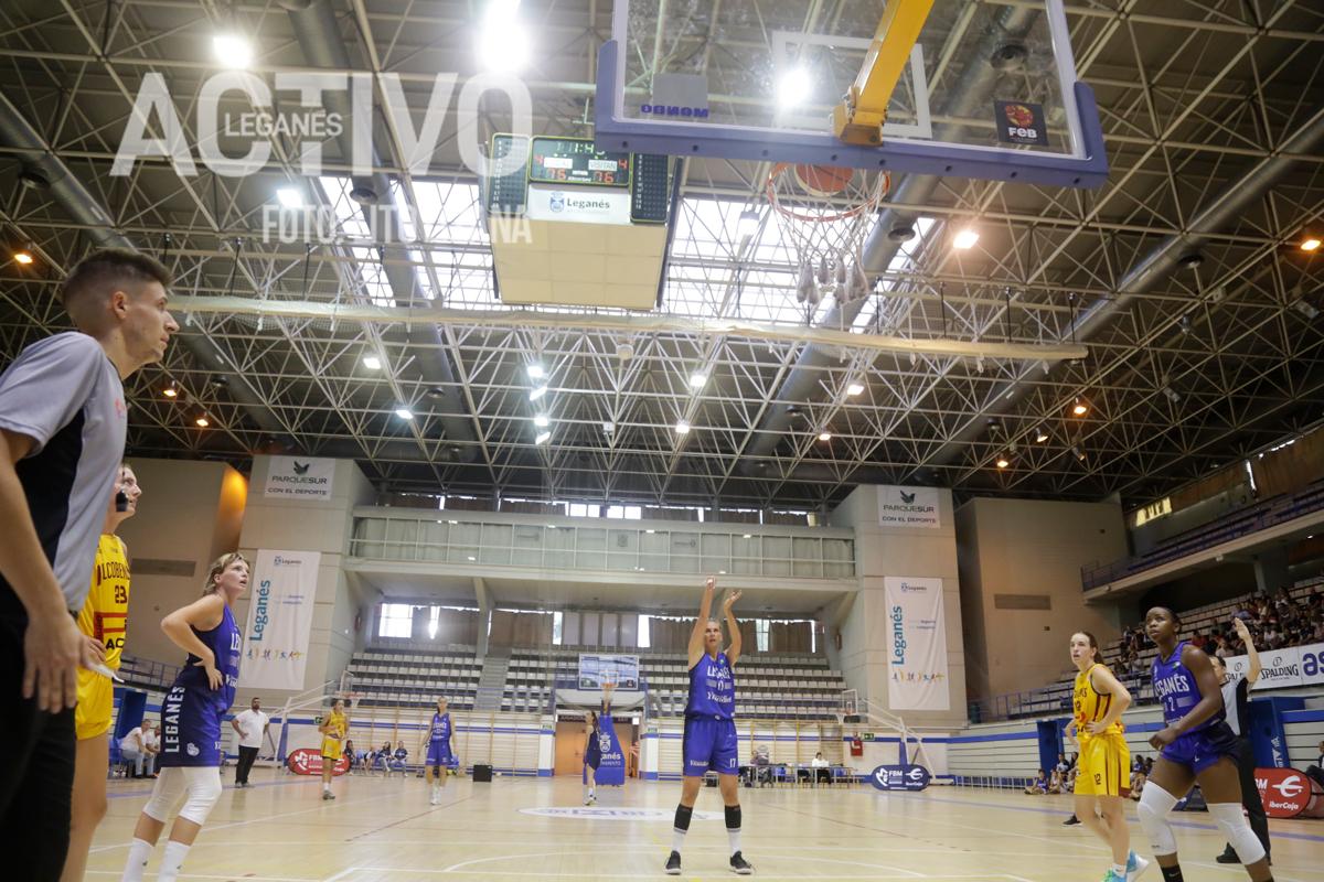 Tiros libres del Club Ynsadiet Leganés. Foto: Lito Lizana