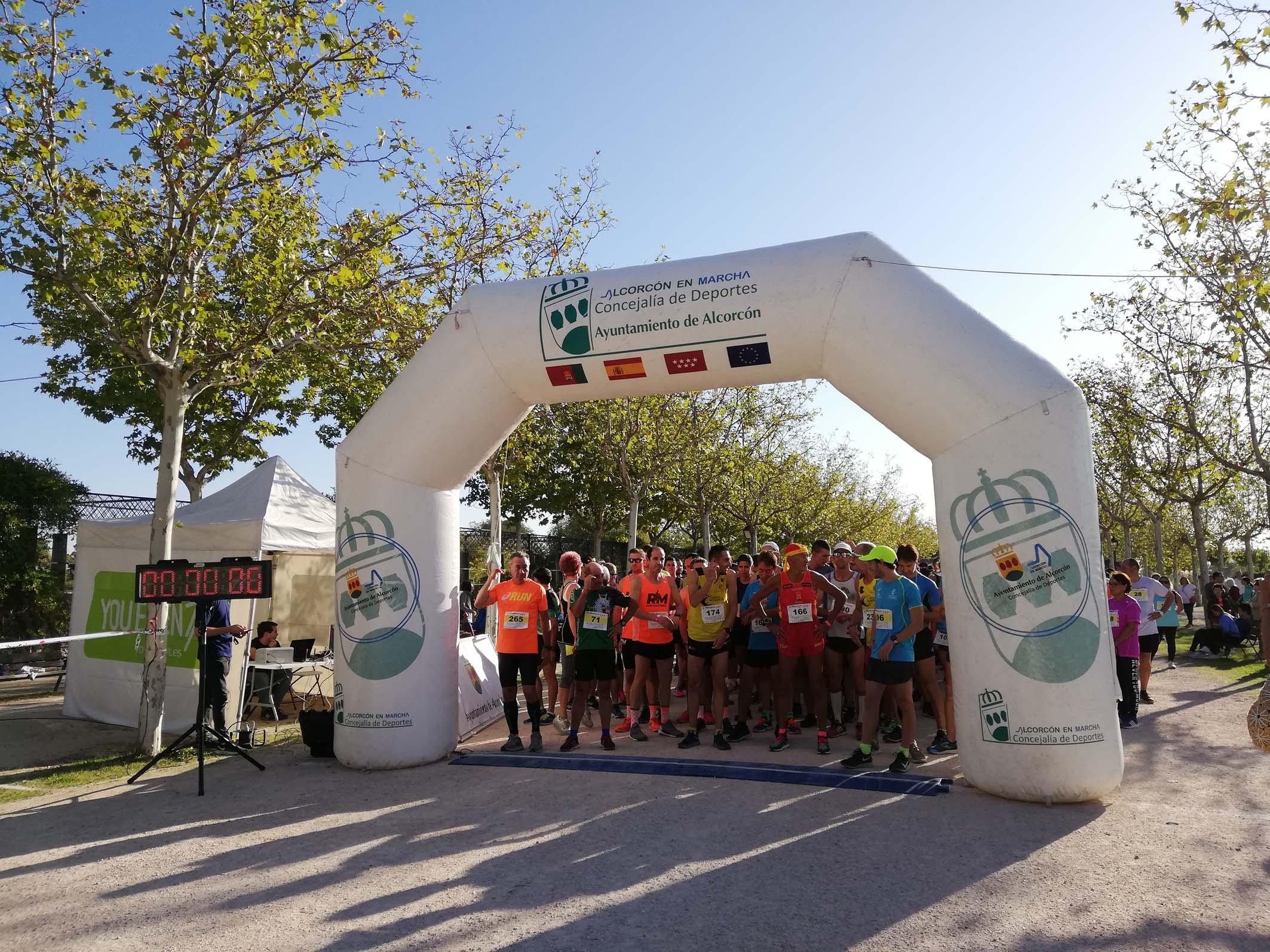 Trágico túnel Violar  Nuevo éxito de corredores y solidaridad en la Carrera Párkinson Sin Límites