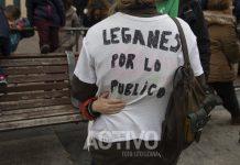 manifestacion leganes por lo publico