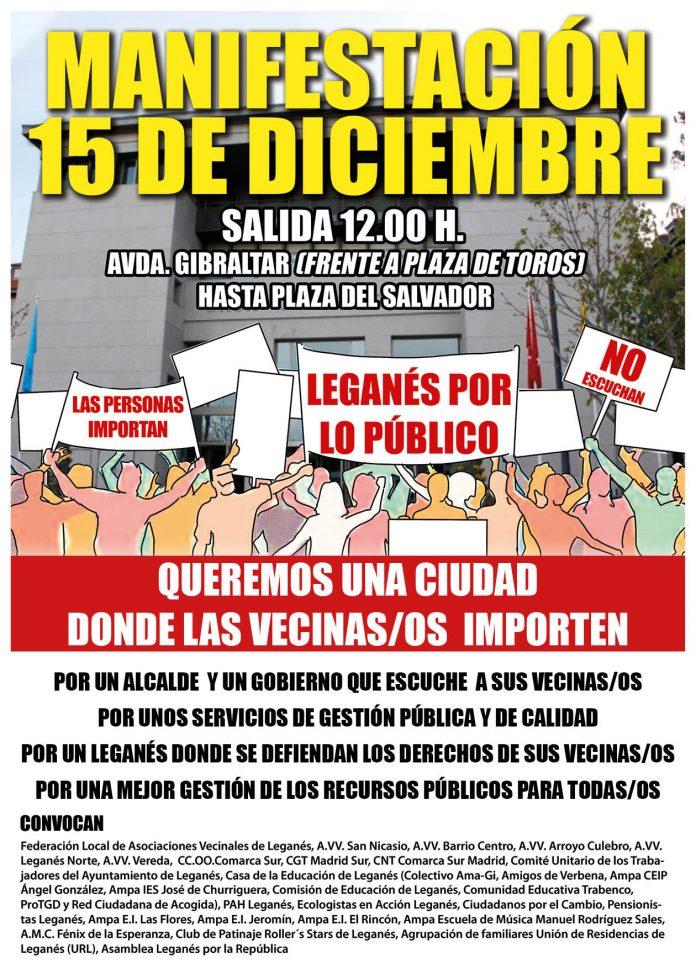 manifestacion leganes