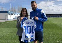 Siovas 100 partidos CD Leganés