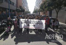 manifestacion vereda de los estudiantes