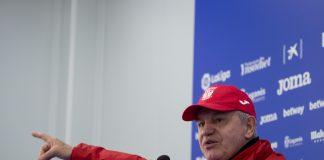 Javier Aguirre, entrenador del CD Leganés en rueda de prensa