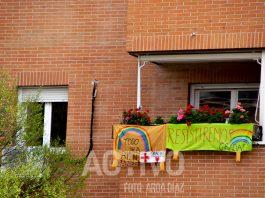 mensaje balcon coronavirus animo