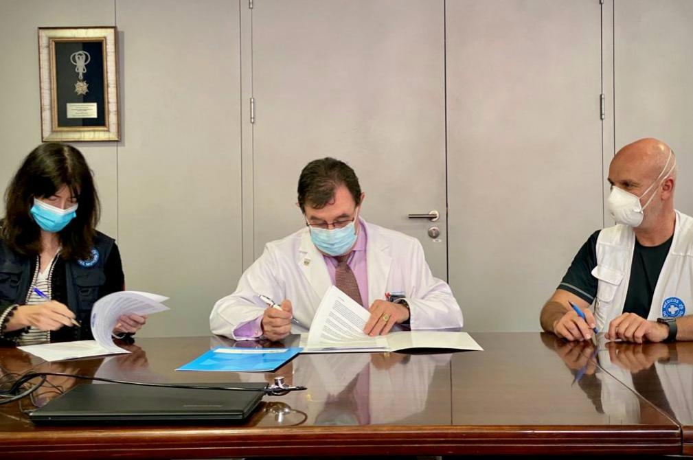 El Hospital Severo Ochoa y Médicos del Mundo colaboran juntos en ...