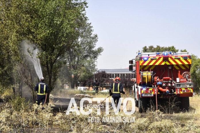 bomberos incendio