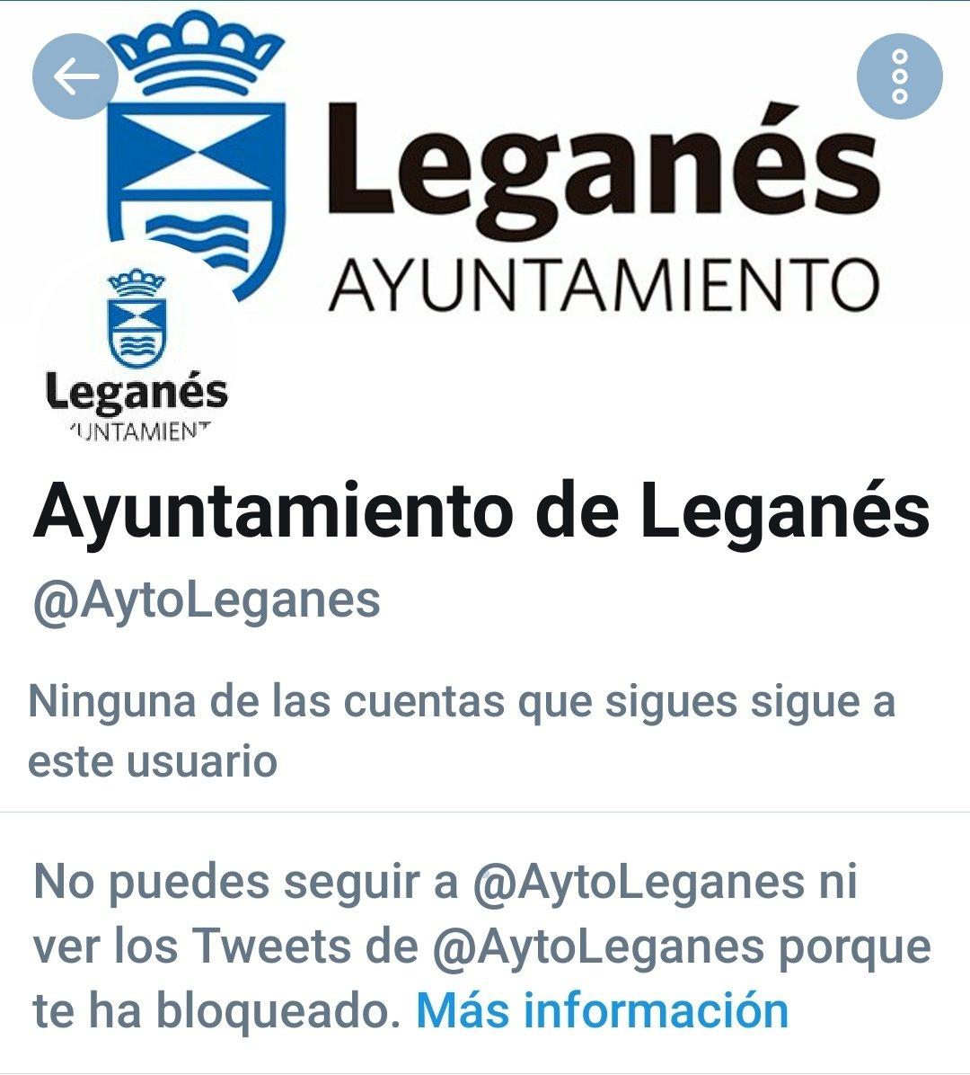 bloqueo twitter ayuntamiento leganés