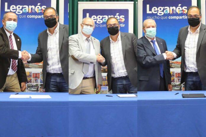 convenios Leganés casas regionales